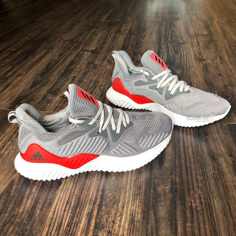 6f53fe449 Giày Adidas AlphaBounce Beyond Grey Red - Shop Giày Adidas Giá Rẻ